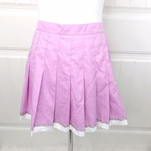 Tail Lilac Pink Pleated Tennis Skirt 4 Vintage 10